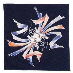 バンダナ ハンカチ スカーフ ポケットはんかち 和風バンダナ 暴れ熨斗|kameya