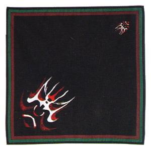バンダナ ハンカチ スカーフ ポケットはんかち 和風バンダナ 筋隈|kameya