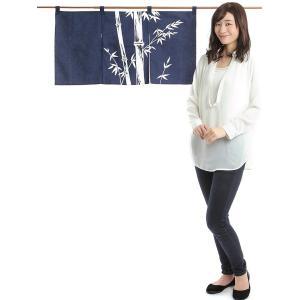 のれん おしゃれ カウンター 暖簾 和風 のれん ショート 85×45cm 笹竹|kameya