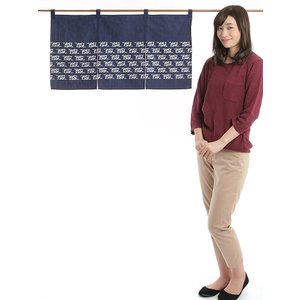 カウンター暖簾(幅85cm×丈45cm・水引) ドアのれん ショート丈暖簾|kameya