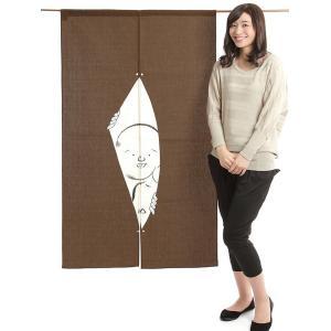 のれん 和風 おしゃれ 暖簾 間仕切り のれん ロング 85×150cm 来客 変り織り|kameya