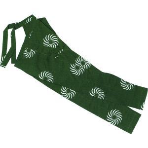 股引き 祭り ももひき 股引 祭パンツ パッチ 祭股引 メンズ レディース 緑 獅子毛 獅子舞|kameya