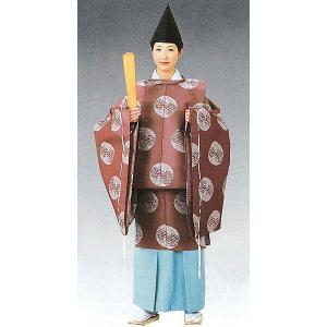 狩衣(小豆色/男女兼用) 神職用衣裳 神主用衣装 神職の常装 陰陽師 平安衣装|kameya