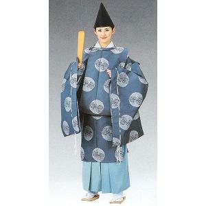 狩衣(納戸色/男女兼用) 神職用衣裳 神主用衣装 神職の常装 陰陽師 平安衣装|kameya