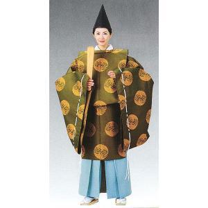 狩衣(鶯茶/男女兼用) 神職用衣裳 神主用衣装 神職の常装 陰陽師 平安衣装 kameya
