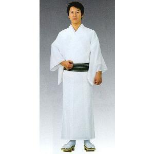 男物無地着物(白/単衣仕立上り/夏用) 神職用衣裳 神主用衣装 神職の常装 祭祀衣装 神社の仕事着|kameya