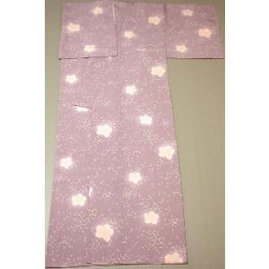 小紋 着物 仕立て上がり レディース 正絹 袷 踊り 舞台 おしゃれ 小紋 桜|kameya