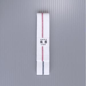 半纏帯 法被 帯 はっぴ 袢天帯 子供用 角帯 浴衣帯 よさこい 祭り 踊り帯 祭り用品 白 エンジ|kameya