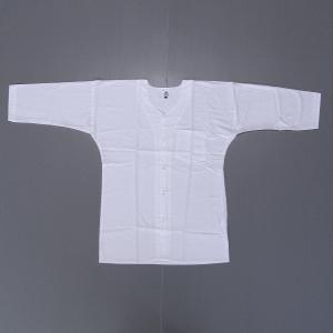 鯉口シャツ 祭り ダボシャツ メンズ レディース 高級さらし 白 祭り用品 鯉口シャツ|kameya