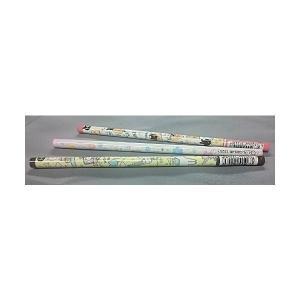 2B丸軸鉛筆(えんぴつ) 3柄セットアルパカ・パン・デイジー...