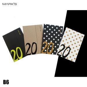 MARK'S マークス ダイアリー手帳 B6 ウィークリーレフト マグネット20 2020年版 4色の画像