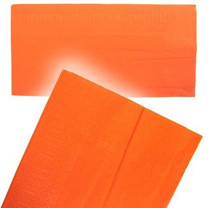 【箱売り】8ツ折カラー2PLYナプキン オレンジ 2000枚【国産】【ディナー】【テーブルコーディネート】 kami-plaza