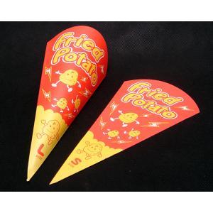 【7/23以降の出荷手配】三角袋フライドポテトS(100枚)|kami-plaza|02
