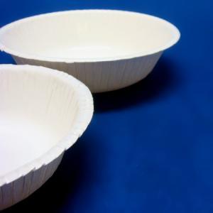 紙の深皿450ml 50枚 使い捨ての深さのある紙皿|kami-plaza