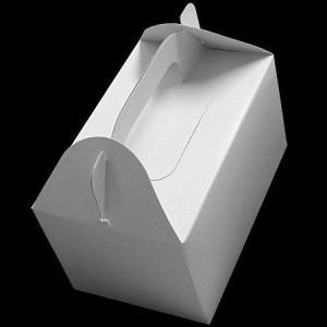 手付きケーキ箱5号100枚(160×102×90mmh)|kami-plaza
