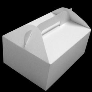 手付きケーキ箱7号100枚(210×150×90mmh)|kami-plaza