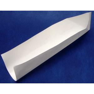 パットレー(小)白No.10(50×238mm) 5000枚/箱 ホットドック・フランクフルト用耐油袋|kami-plaza