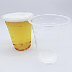 透明プラスチックカップ14オンス 100個(使い捨て容器) kami-plaza