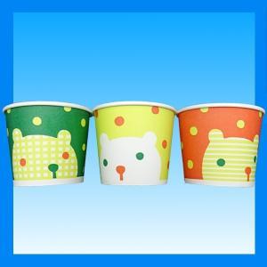 発泡紙カップシロクマ 13オンス 400ml 3色アソート 計50個|kami-plaza