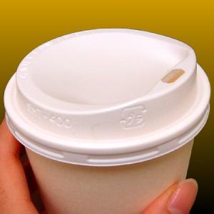 【リッド】紙コップ400ml用フタ (2000個)白 ※東罐興業製厚紙コップ専用|kami-plaza