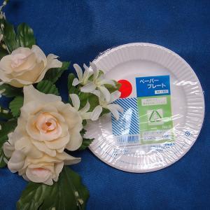 レジャー用 紙皿ホワイト6号15cm(10枚)|kami-plaza
