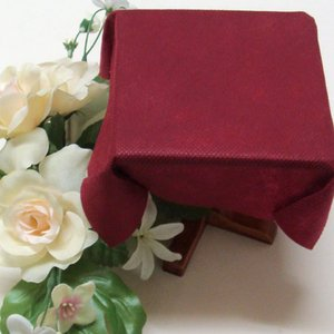 不織布テーブルクロス100cm巾(10枚) ワインレッド|kami-plaza
