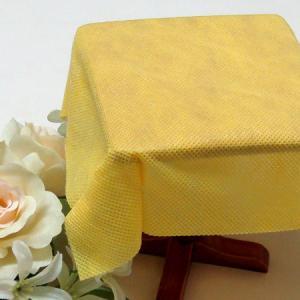 不織布テーブルクロス150cm巾(10枚) イエロー|kami-plaza
