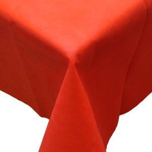 不織布テーブルクロス150cm巾(業務用50枚) レッド kami-plaza