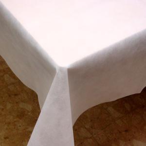 不織布テーブルクロス150cm巾(業務用50枚) ホワイト kami-plaza