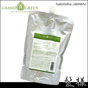 ニューウェイジャパン グラングリーン スパ クリーム モイスト 1000g 詰替え|kami