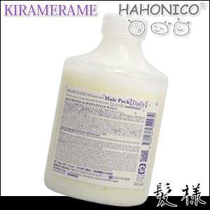 ハホニコ キラメラメ メンテケア ヘアパック デイリー 500g 詰替え|kami
