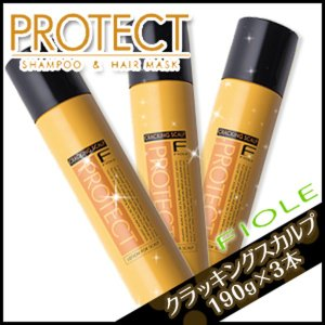 フィヨーレ Fプロテクト クラッキングスカルプ 190g ×3本 セット /ブランド:Fプロテクト ...