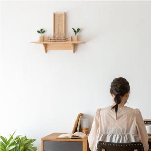 神棚 モダン モダン神棚 Mitsuba メイプルセット No.9|kamidana