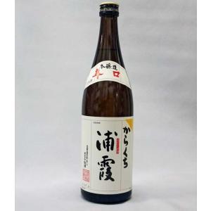 浦霞 辛口 本醸造720ml日本酒(2016年7月)