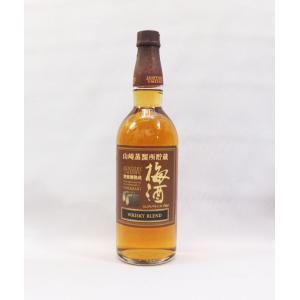 ウイスキーを貯蔵していた古樽の内面を焙煎し、梅酒をゆっくりと熟成させた後、梅酒樽で後熟したウイスキー...