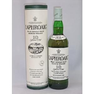 ラフロイグ 10年 40度 700ml モルトウイスキー(旧ボトル)