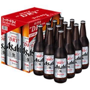 ビールギフト アサヒスーパードライ大瓶 12本入(EX-12) (箱入り)
