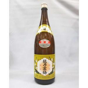 越乃寒梅 別撰 吟醸酒 1800ml 日本酒