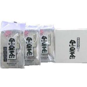 黒豆茶  3個組<箱入> kamikitanousan