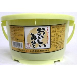 おいしいみそ(赤こし)2.5kg|kamikitanousan