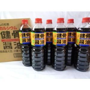 健骨醤油1リットル【6本入】|kamikitanousan