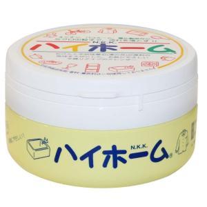 石鹸と天然珪華石(湯の花)が原料の地球を大切にした、お肌にやさしい半練りタイプのクレンザー。
