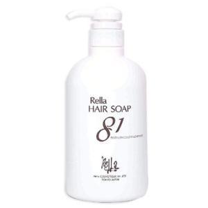 【レラ ヘアソープ 81】 パーマやヘアダイで乾燥した髪を保護しながら洗い上げます。 洗浄成分に髪と...