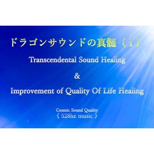 業務利用【2枚セット】ドラゴンサウンドの真髄 Improvement of Quality Of Life Healing & Transcendental Sound Healing 528hz|kamiobina
