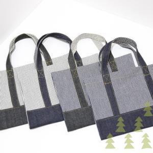 福岡の小学校図書専用バッグ バッグ型ブックカバー 岡山児島デニム使用|kamitonuno