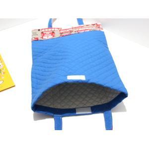 福岡の小学校図書専用バッグ バッグ型ブックカバー ★国産生地のスクールバス|kamitonuno|03