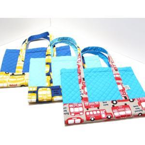 福岡の小学校図書専用バッグ バッグ型ブックカバー ★国産生地のスクールバス|kamitonuno|05