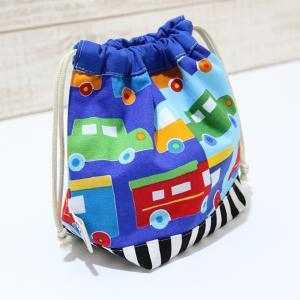 コップ袋サイズの巾着 (日本製コットン・TOY CARS)|kamitonuno|02