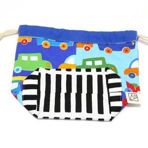 コップ袋サイズの巾着 (日本製コットン・TOY CARS)|kamitonuno|03