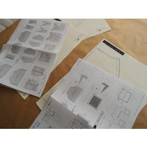 スモック(レディース)の型紙[ny-012]|kamitonuno|05